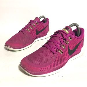 Nike Free 5.0 Running Sneakers Shoes Woman's 8.5
